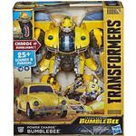 Transformers Toys price comparison Hasbro Transformers Bumblebee Movie Power Charge Bumblebee Action Figure 10.5""