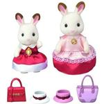 Dollhouse dolls - Fabric Sylvanian Families Dress Up Duo Set