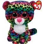 Soft Toys - Leopard TY Beanie Boos Dotty Leopard 15cm