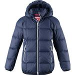 Polyurethane - Winter Jacket Children's Clothing Reima Jord Down Jacket - Navy (531359-6980)