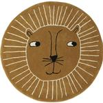 Rugs Kid's Room OYOY Lion Rug Ø95cm