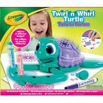 Creativity Sets - Plasti Crayola Twirl & Whirl Turtle