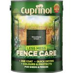 Cuprinol Less Mess Fence Care Wood Protection Green 5L