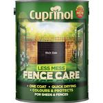 Cuprinol Less Mess Fence Care Wood Protection Brown 5L