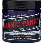 Semi-permanent Hair Colour Manic Panic Classic High Voltage Rockabilly Blue 118ml