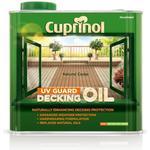 Decking Oil Paint Cuprinol UV Guard Decking Oil Brown 2.5L