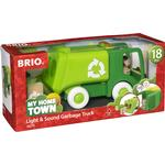 Wood - Lorry Brio My Home Town Light & Sound Garbage Truck 30278