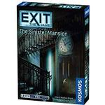 Family Board Games - Co-Op Kosmos Exit: The Game The Sinister Mansion