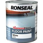 Ronseal Diamond Hard Floor Paint White 0.75L