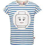 Stripes - T-shirts Children's Clothing Lego Wear Tanya 307 T-Shirt - Blue