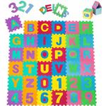 Play Mats on sale Soft Alphabet & Number Puzzle Play Mat 86pcs
