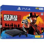 Game Consoles Deals Sony PlayStation 4 Slim 500GB - Red Dead Redemption II