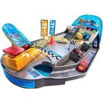 Car Track Set on sale Mattel Disney Cars Mini Racers Rollin Raceway