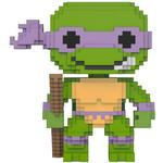 Turtles - Figurines Funko Pop! 8-Bit Teenage Mutant Ninja Turtles Donatello