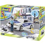Construction Kit - Police Revell Junior Kit Police Car with Figure 00820