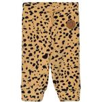 Logotype - Soft Shell Pants Children's Clothing Mini Rodini Fleece Spot Trousers - Beige (1873010113)