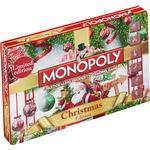 Family Board Games - Roll-and-Move Monopoly: Christmas Edition
