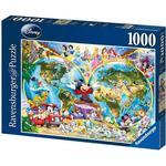Ravensburger Disney's World Map 1000 Pieces