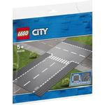Cheap Lego City Lego City Straight & T-Junction 60236