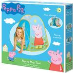 Play Tent - Plasti Worlds Apart Peppa Pig Pop up Play Tent