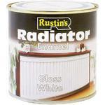 Radiator Paint Rustins - Radiator Paint White 0.25L