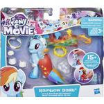 My little Pony - Figurines Hasbro My Little Pony the Movie Rainbow Dash Land & Sea Fashion Style E0989