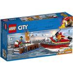 Fire fighter - Lego City Lego City Dock Side Fire 60213