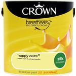 Ceiling Paint price comparison Crown Silk Emulsion Wall Paint, Ceiling Paint Yellow 2.5L