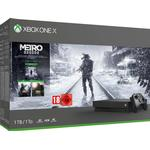 Xbox one x 1tb Game Consoles Deals Microsoft Xbox One X 1TB - Metro Saga Bundle