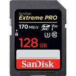 SanDisk Extreme Pro SDXC Class 10 UHS-I U3 V30 170/90MB/s 128GB
