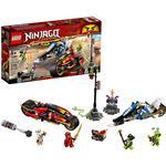 Lego Ninjago Lego Ninjago price comparison Lego Ninjago Kai's Blade Cycle & Zane's Snowmobile 70667
