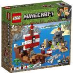 Plasti - Lego Minecraft Lego Minecraft The Pirate Ship Adventure 21152