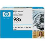 Ink and Toners price comparison HP (92298X) Original Toner Black 8800 Pages