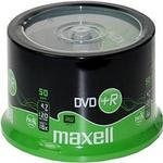 DVD Maxell DVD+R 4.7GB 16x Spindle 50-Pack (275736)