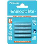 Rechargeable Standard Batteries on sale Panasonic BK-4LCCE/4BE Compatible 4-pack
