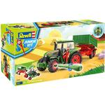 Construction Kit - Farm Life Revell Junior Kit Tractor & Trailer with Figure 00817
