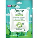 Skincare price comparison Simple Kind to Skin Pollution Protect Sheet Mask 21ml