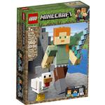 Cheap Lego Minecraft Lego Minecraft Alex BigFig with Chicken 21149