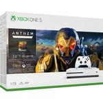Xbox One Game Consoles Deals Microsoft Xbox One S 1TB - Anthem Bundle