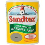 Sandtex Ultra Smooth Masonry Concrete Paint Green 5L