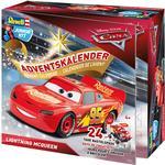Disney - Advent Calendar Revell Junior Kit Disney Pixar Car Advent Calender Lightning McQueen 2018