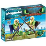 Playmobil Ruffnut and Tuffnut with Flight Suit 70042
