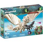 Playmobil Light Fury with Baby Dragon & Children 70038