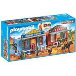 Play Set - Horse Playmobil Take Along Western City 70012