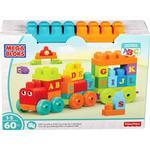 Cheap Blocks Fisher Price Mega Bloks ABC Learning Train Building Set
