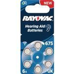 Hearing Aid Batteries Hearing Aid Batteries price comparison Rayovac Long Lasting 675 6-pack