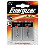Alkaline - 9V (6LR61) Batteries and Chargers price comparison Energizer Max 9V Compatible 2-pack