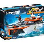 Toy Boat - Ocean Playmobil Spy Team Turboship 70002