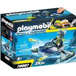 Toy Boat on sale Playmobil Team S.H.A.R.K. Rocket Rafter 70007