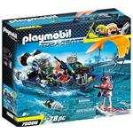 Toy Boat on sale Playmobil Team S.H.A.R.K. Harpoon Craft 70006